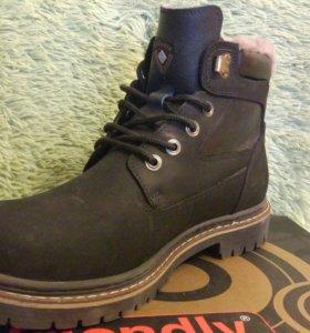 Зимние ботинки мужские 43р