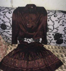 Костюм пиджак юбка