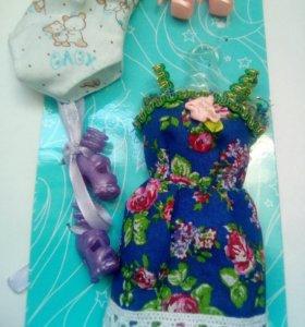 Одежда для кукол Барби, ручная работа.