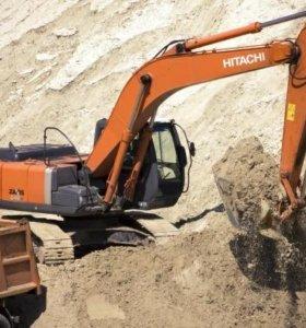 Песок карьерный с доставкой и услуги спецтехники