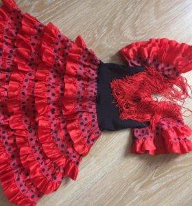 Платье испанки, новогодний костюм