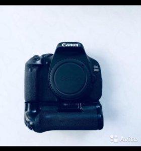 Canon 600D + нехилые дополнения