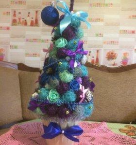 Новогодняя интерьерная елка