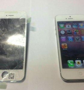 Замена экрана на iPhone 4 : 4s : 5 : 5s : 6 : 6s
