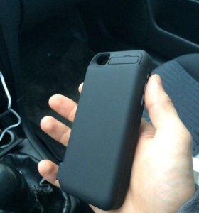 Чехол зарядка на iPhone 5, 5С, 5s, 5SE.