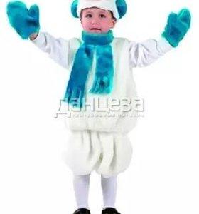 Новогодний костюм снеговик,пират,кот