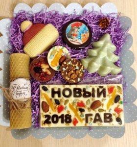 Новогодние подарки 🎁🎄☃️ Шоколад на заказ