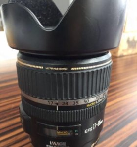 Объектив Canon efs 17-85 ultrasonic