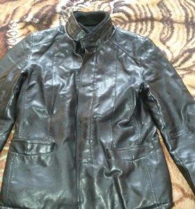 Коженная куртка