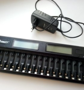 16x - зарядное устройство для аккумуляторов AA/AAA