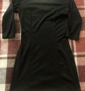 Чёрное Нарядное платье .