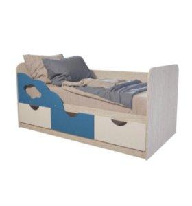 Детская кровать новая «Скай»