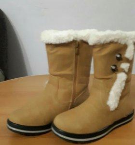 Продаются сапоги детские зимние