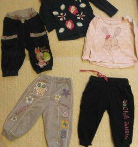 Вещи на девочку пакетом 1-2 года