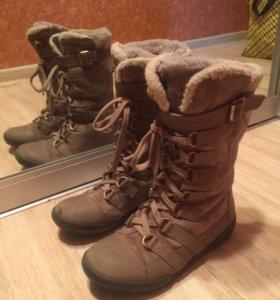 Зимняя обувь сапоги с мехом