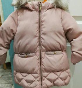 Продам зимнию куртку для девочки