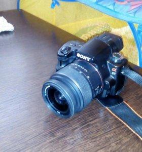 Зеркальный фотоаппарат sony a37
