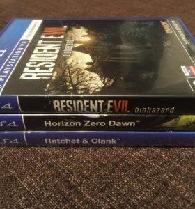 PS4 Games, продажа комплектом!