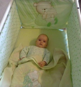 Кровать. Матрас детский