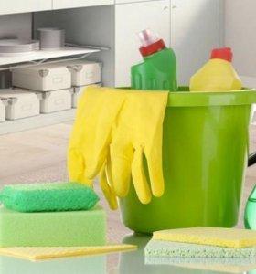 Помощь в уборке квартир и домов