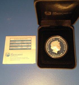 Серебреная монета (ограниченный тираж)