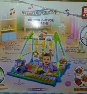 Развивающий коврик для малыша Bebi Gift