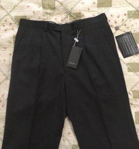 Новые классические брюки из 100% шерсти, 50-52 раз