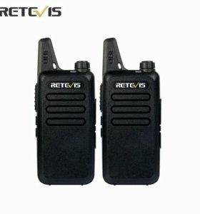 Рации Комплект RETEVIS RT22 новые