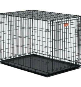 Клетка для собак и кошек 91см