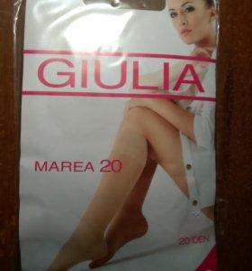 Гольфы капроновые Giulia (2пары) 20 ден
