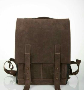 Кожаный рюкзак ручной работы