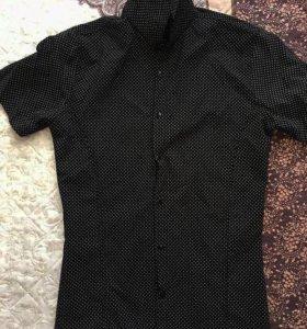 Мужская Стрейчивая рубашка