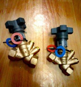Клапан балансировочный 1/2 и 3/4 бронза