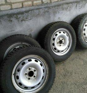 Диски R15  5×108 форд фокус,мондео,маздa +шины 16