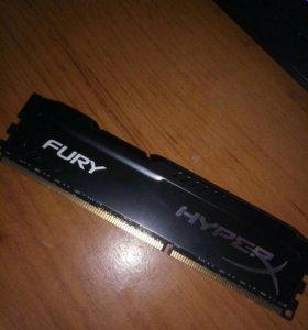 Новая DDR3 8192MB 1.6 MHz Kingston HyperX 8GB