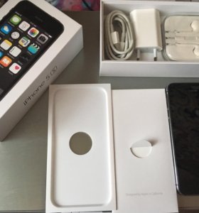 IPhone 5S space gray 16