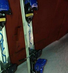 Горные лыжи volkl + head ботинки