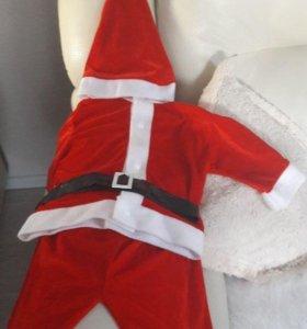 Новогодний костюм Санта Клауса.