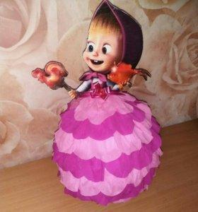 Упаковка Киндер в виде куклы