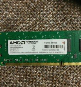 Память для AMD процессора 8 Гб