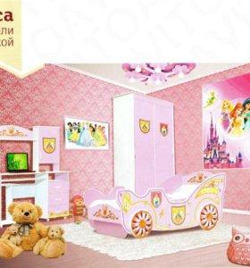 """Набор мебели для детской """"Принцесса"""""""