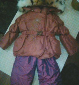 Новый зимний костюм.р.92.