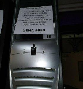 4-х ядерный компьютер q9300 c GT630