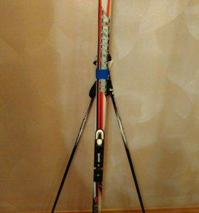 Лыжи + палки