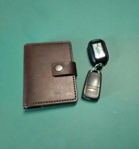 Бумажник из натуральной кожи!