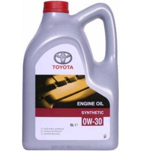 Масло моторное Toyota 0W30 5 л.оптом