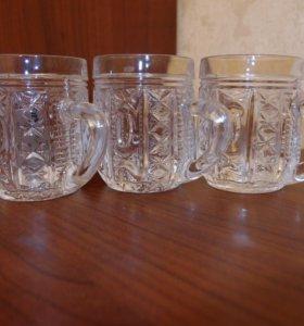 Продам набор хрустальных стаканчиков
