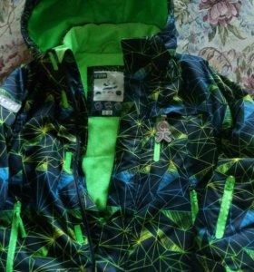 Куртка зима для мальчика 7-8 лет Рост 128