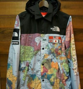 Supreme x the north face map jacket