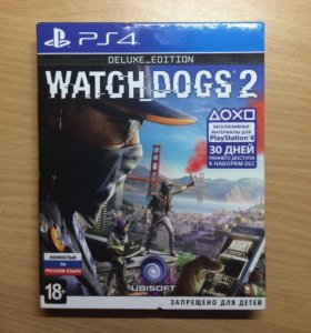 PS4 WATCH DOGS 2 DELUXE
